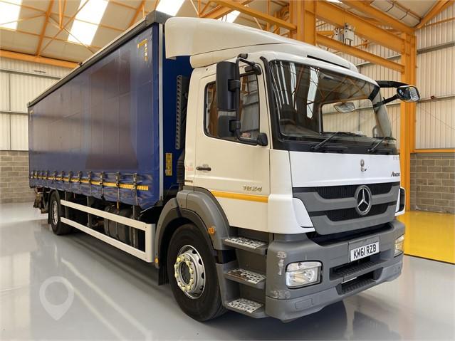 2012 MERCEDES-BENZ AXOR 1824 at TruckLocator.ie