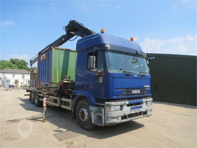 2001 IVECO EUROTECH 260E31 at TruckLocator.ie