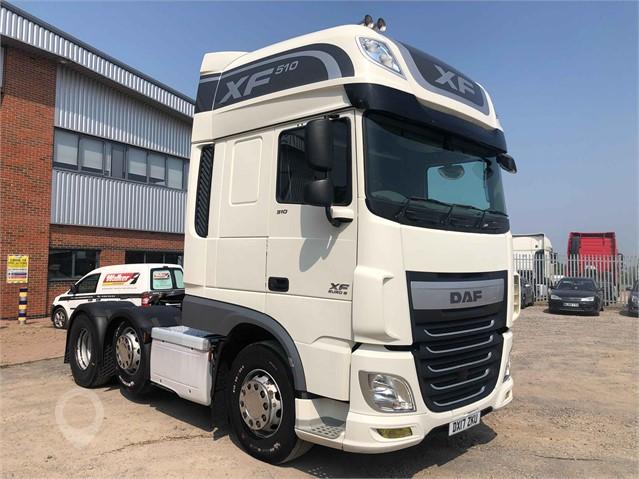 2017 DAF XF510 at TruckLocator.ie