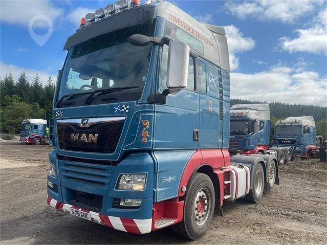 2018 MAN TGX 26.440 at TruckLocator.ie