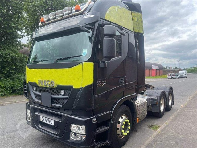2016 IVECO STRALIS 500 at TruckLocator.ie