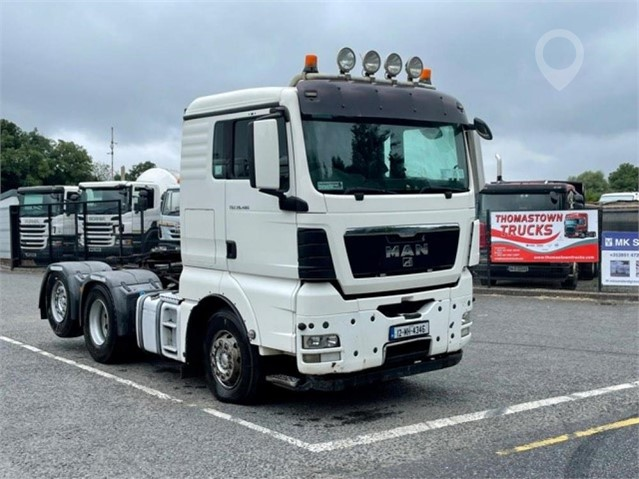 2012 MAN TGX 26.480 at TruckLocator.ie