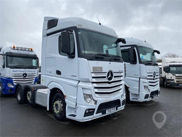 2015 MERCEDES-BENZ ACTROS 2545 at TruckLocator.ie