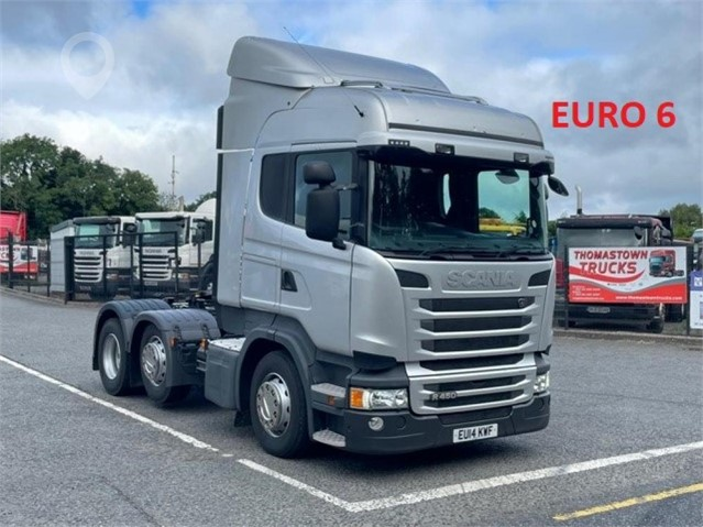2014 SCANIA R450 at TruckLocator.ie