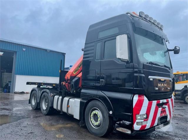 2013 MAN TGX 26.540 at TruckLocator.ie