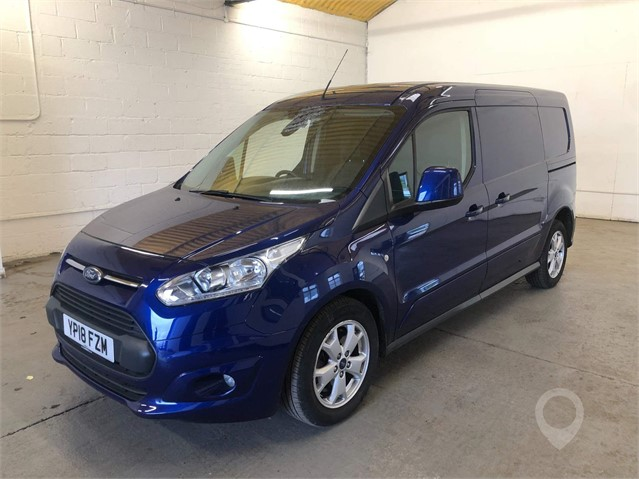 2018 FORD TRANSIT CONNECT at TruckLocator.ie