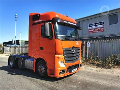 2014 MERCEDES-BENZ ACTROS 2545 at TruckLocator.ie