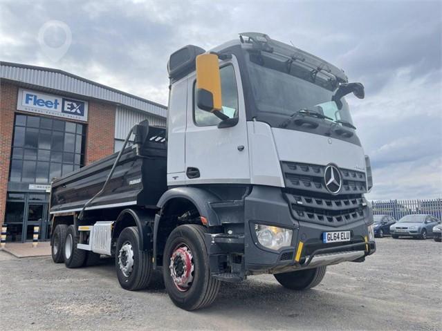 2015 MERCEDES-BENZ AROCS 3240 at TruckLocator.ie