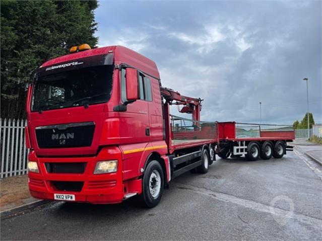 2012 MAN TGX 26.440 at TruckLocator.ie
