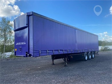 2000 SAMRO TRI AXLE CURTAINSIDER TRAILER at TruckLocator.ie