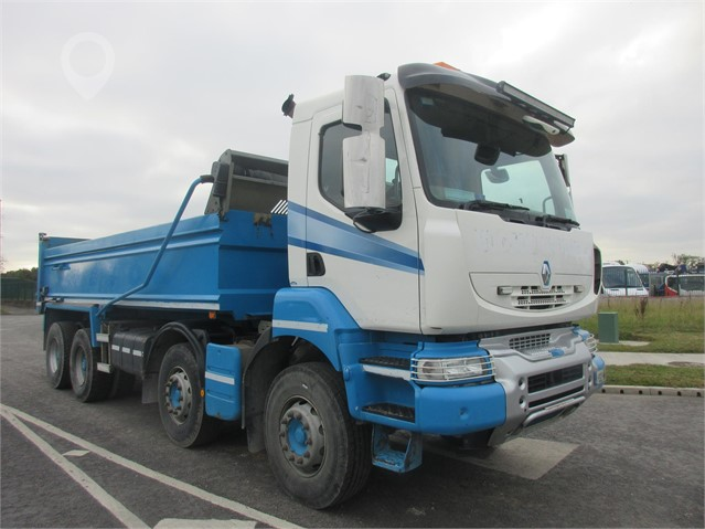 2013 RENAULT KERAX 430 at TruckLocator.ie