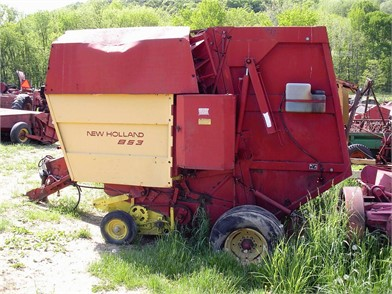NEW HOLLAND Round Balers Dismantled Machines - 200 Listings