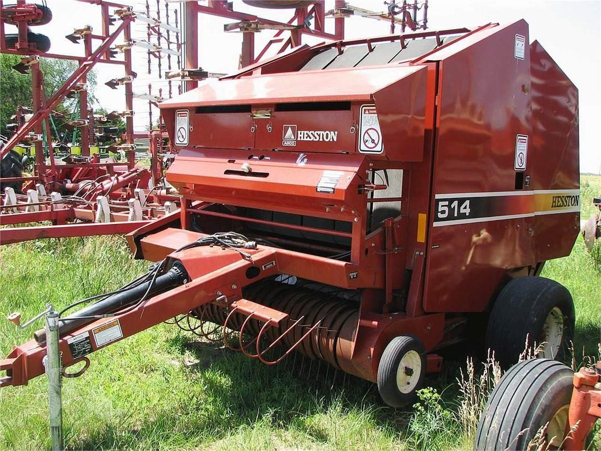2000 HESSTON 514 For Sale In Norfolk, Nebraska   www