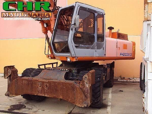 MachineryTrader com   FIAT HITACHI FH200W-3 Dismantled Machines